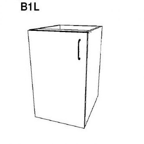Bottom 1 Door – Left