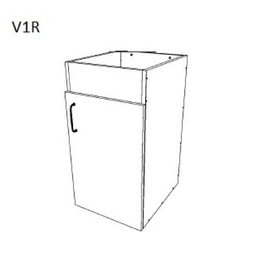 Vanity Bottom 1 Door – Right