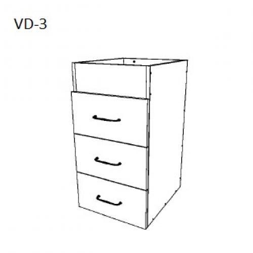 Vanity Bottom Drawer – 3