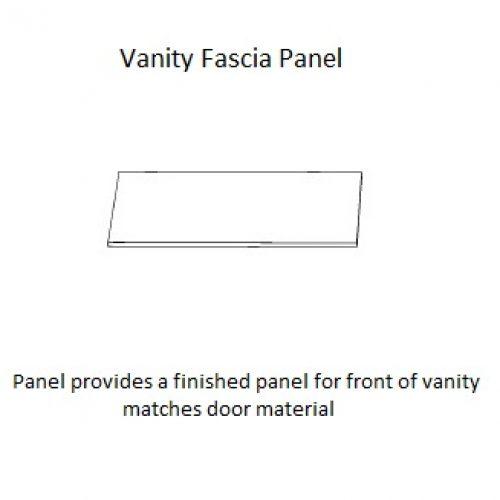 Vanity Fascia Panel