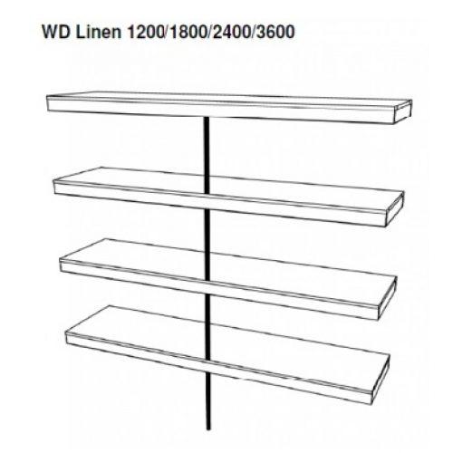 Linen – 4 Shelves
